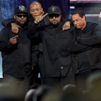 """Ice Cube -- """"G**Damn Right We're Rock Roll!"""", N.W.A's ( Kendrick Lamar's!) Inspirational Rock Roll Hall of Fame Induction Speeches!"""