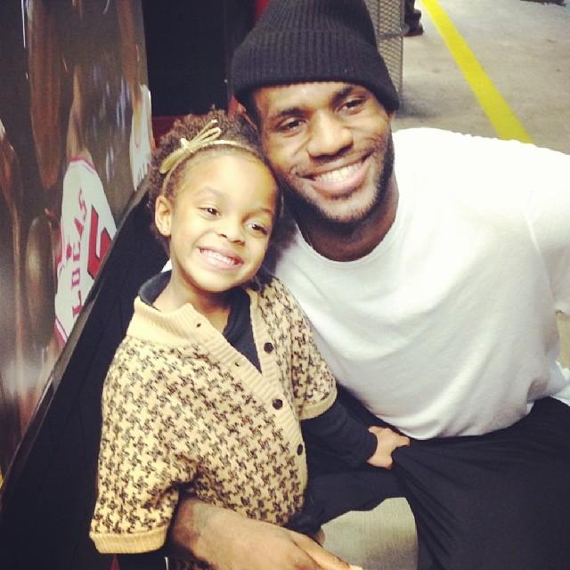 INSTAGRAM FAIL: Kids Do The Darndest Things -- LeBron James