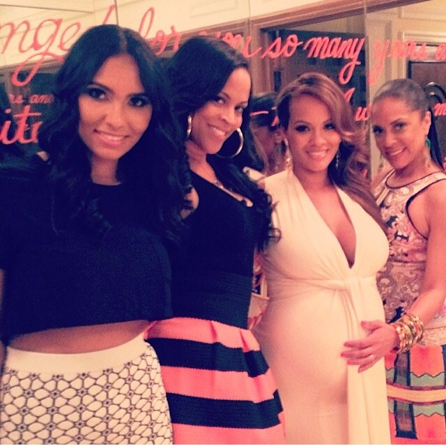 Bring On The Gifts Evelyn Lozada Celebrates Her Million Dollar Baby