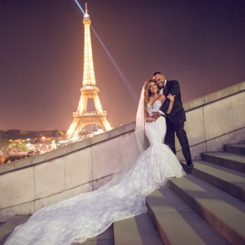 Adrienne Bailon S Official Wedding Photo Is Drop Dead Gorgeous The Young Black And Fabulous