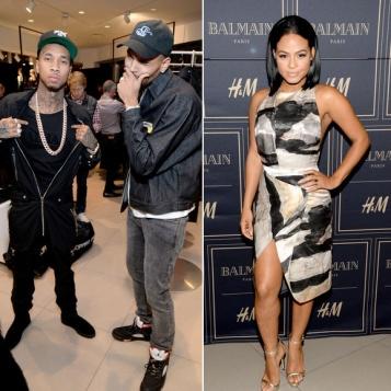 FASHION FOLKS: Chris Brown, Tyga, Christina Milian Omarion Hit Up The Balmain x H&M VIP Pre-Launch In L.A.