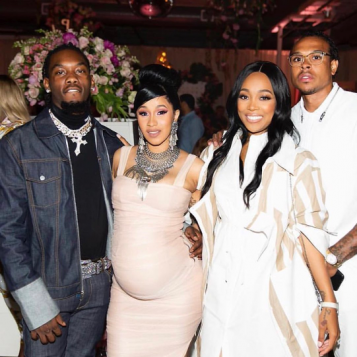 Cardi B Offset Do It Big For Their Bronx Bardi Baby Shower In The