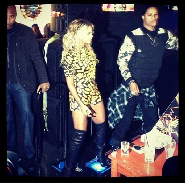 Beyonce Celebrates At Private Album Release Party In Nyc