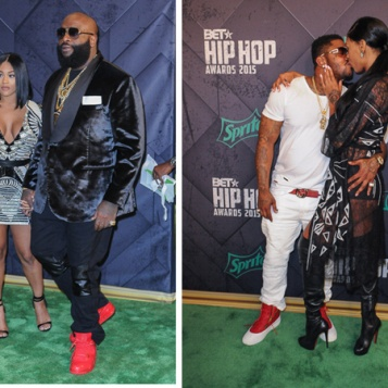 Scrappy Bambi BACK TOGETHER + Rick Ross Fiance Lira Galore More From 2015 BET Hip Hop Awards Red Carpet!