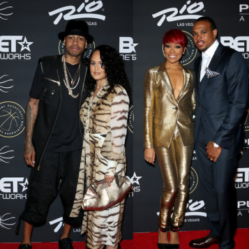 2015 BET Presents The Players' Awards: Allen & Tawanna ...