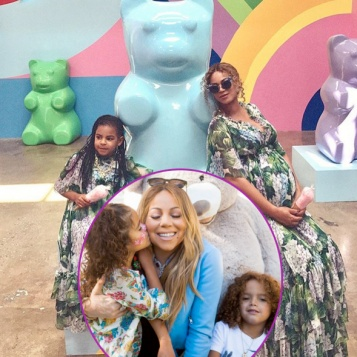 Beyonce Amp Blue Ivy Are Mother Daughter Twingoals Mariah