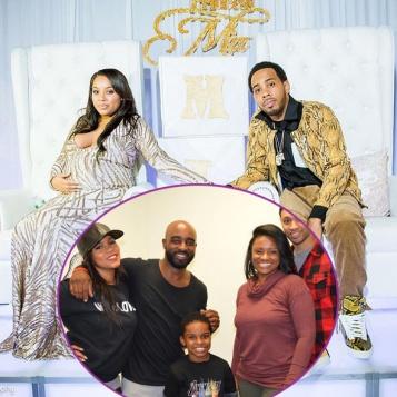 The Simmons Family Celebrates At JoJo Simmons U0026 Girlfriend Taniceu0027s Royal  Themed Baby Shower + LeToya Luckett Parties At Fiancé Rob Hill Sr.u0027s Son  8th ...
