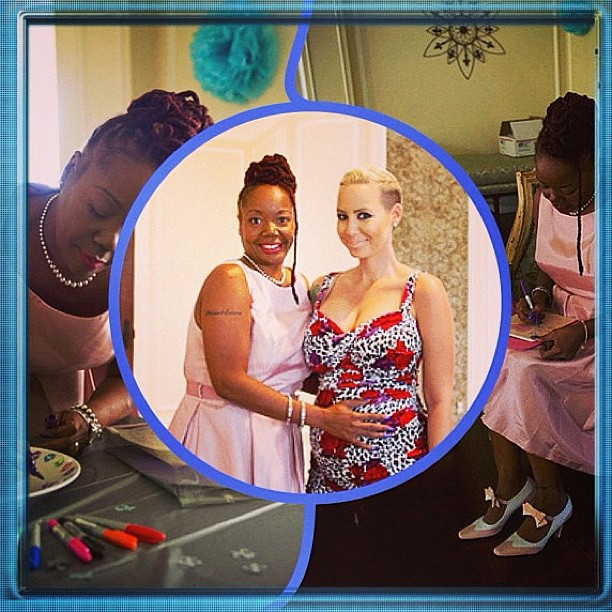 amber rose gets a second baby showercohosted by wiz khalifa's, Baby shower invitation