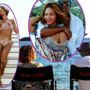 FAMILY AFFAIR: Beyonce Flosses Her Bikini Body, Husband ...