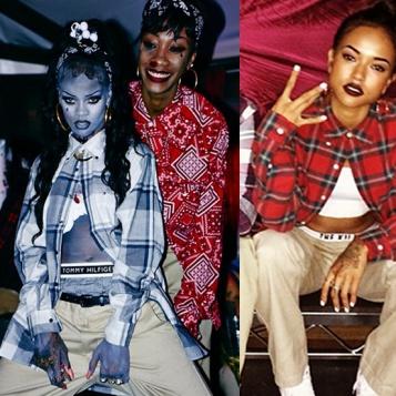 Similar Minds Rihanna Karrueche Tran Both Rock Chola Halloween Costumes The Young Black