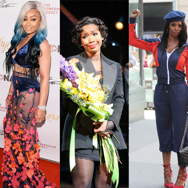 Blac Chyna Shuts Down Mechie Breakup Rumors, Launches Her Own Figurine Dolls + Brandy Is All Tears After Broadway Return + Tasha Smith Gives The Black Power Salute