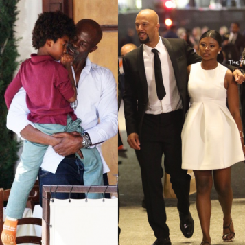 dates with dad kenzo amp djimon hounsou dine out common