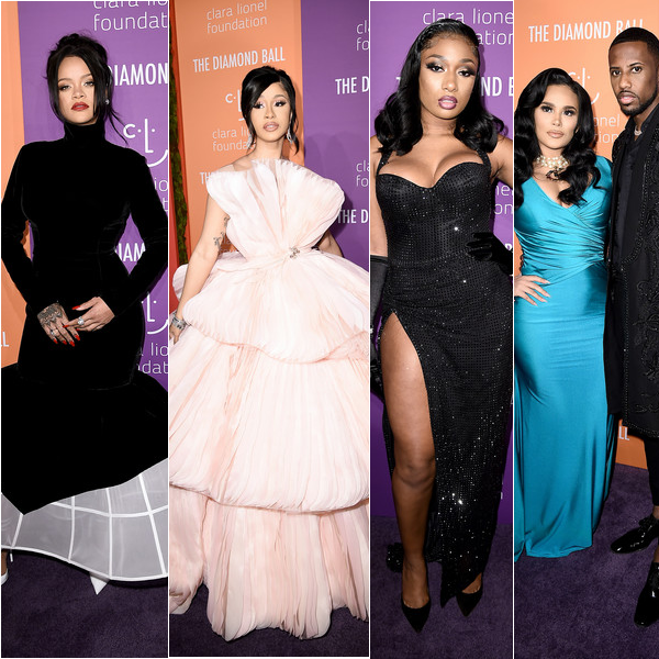 Inside The Diamond Ball - Everything That Went Down With Rihanna, Cardi & Offset, Meg & Moneybagg Yo, Emily & Fab, Kehlani & YG & More