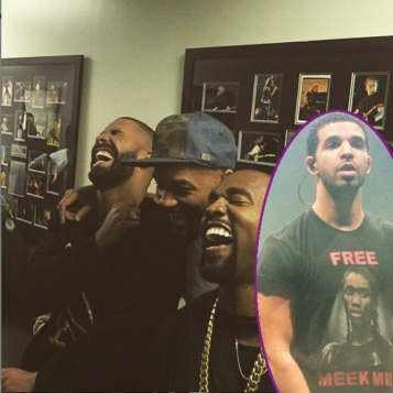 """Drake Destroys Meek Mill At OVOFest With Memes During """"Back To Back"""" + Kanye Will Smith Laugh About It Backstage + Meek, 50 Cent, Ja Rule Respond"""