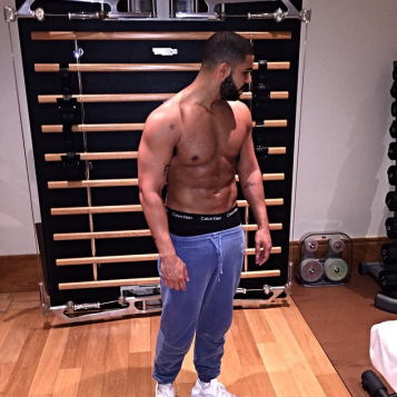 """Wimbledon Lover Aubrey """"Drake"""" Graham Is Suddenly Fine As Hell...And We're Here For It"""