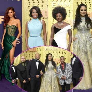 EMMYS 2019: Zendaya, Ava, #Exonerated5, Regina King, Viola Davis & All Your TV Faves Bring The GLAM On The Red Carpet