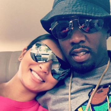 Diddy 'New' Chick Gina Swap Tongues Kisses On Video