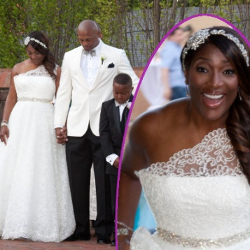 Marry Me Again Taj Amp Eddie George Renew Vows In A