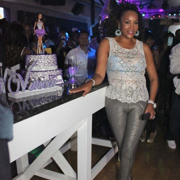 Vivica Fox CELEBRATES Her 49th BIRTHDAY With Tisha ...