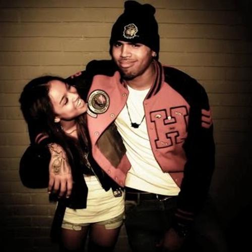 Chris Brown Threesome