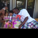 EXCLUSIVE: Bobby Brown & Fiancé Alicia Etheridge Throw 1st Birthday Party For Son Cassius