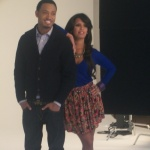 "EXCLUSIVE LOOK: Terrence J And Rosci's ""106 & Park"" Promo Shoot"