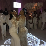 "Celebrities In All White At Gucci Mane & Keyshia Ka'oir's ""Mane Event"""