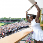 Snaps From Serena Williams' EPIC 2016 Wimbledon Championship Win!