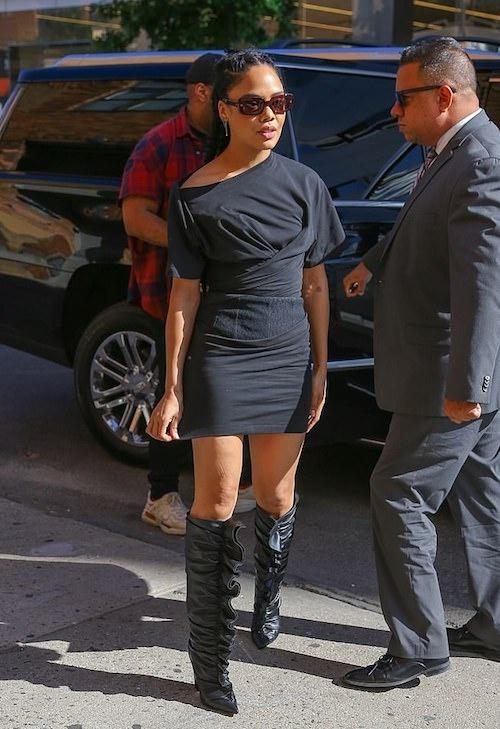 A True Woman In Black!
