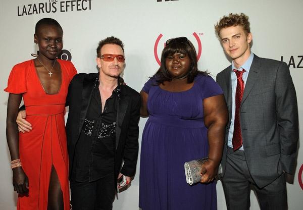 Gabby Meets Bono
