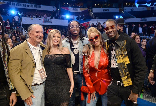 Fergie Her Dad Cardi B Migos The Young Black And Fabulous