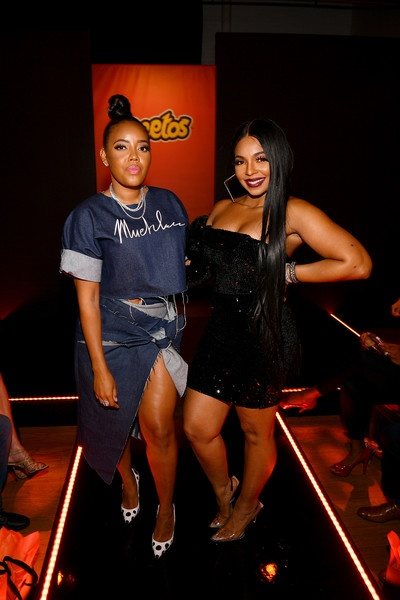 Angela Simmons & Ashanti