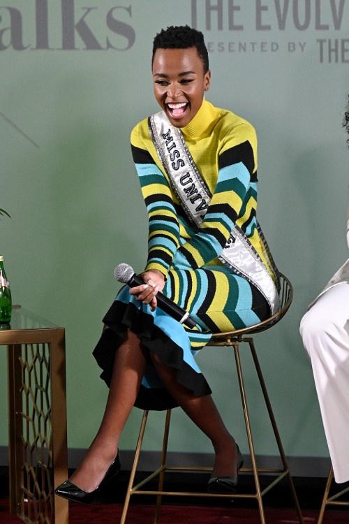 Miss Universe Zozi Tunz