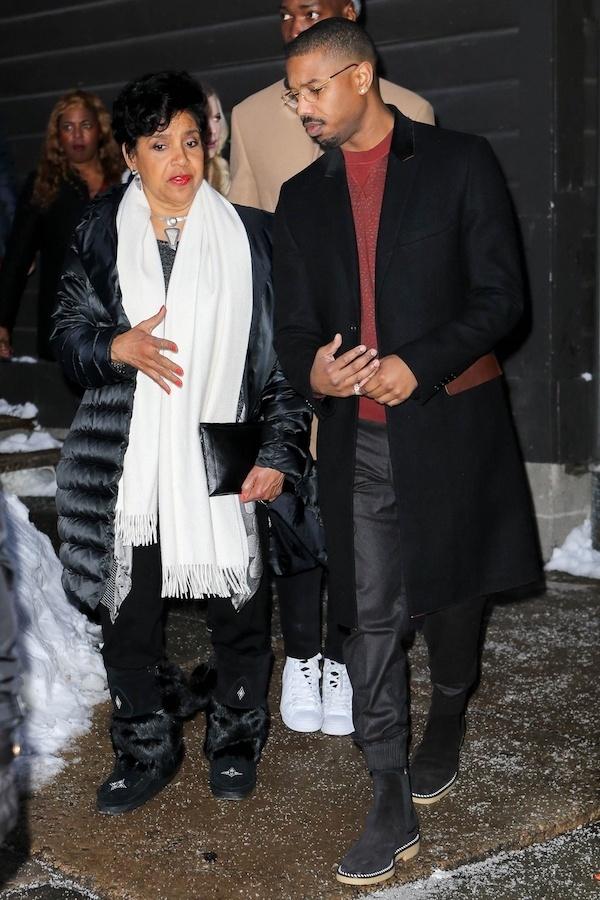 Michael B. Jordan & Phylicia Rashad