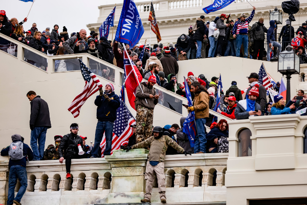 Trump supporters invade U.S. Capitol