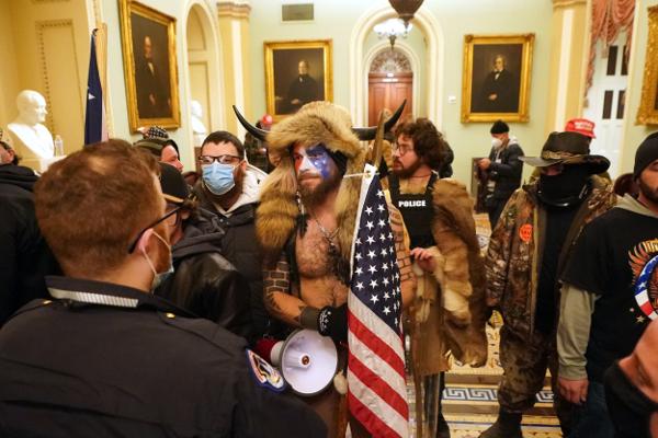 Proud Boys enter the Capitol