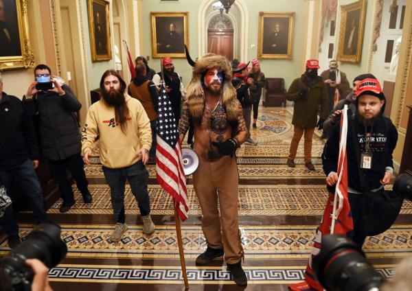 Proud Boys wreak havoc on the Capitol