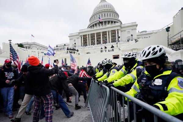 #MAGA mob attacks Capitol police