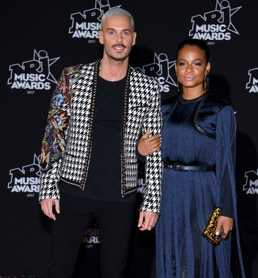 Christina Milian and M Pokora