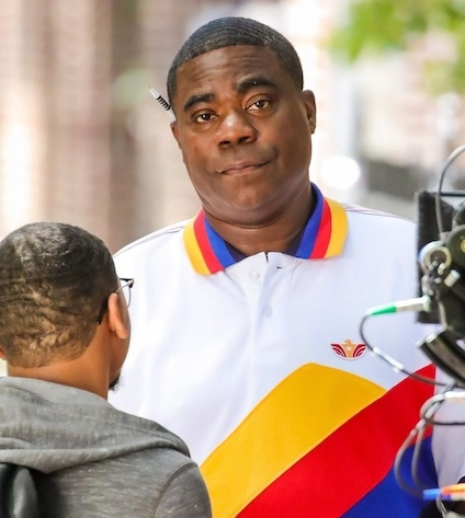 Comedian Tracy Morgan