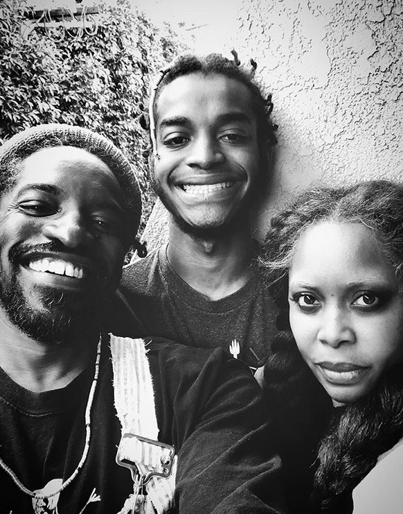 Andre 3000, Son Seven & Erykah Badu | The Young, Black ...