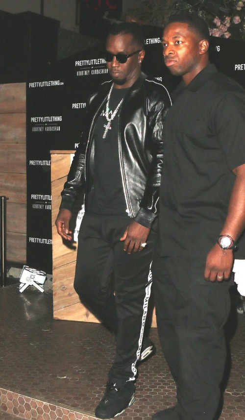 Diddy In The City!