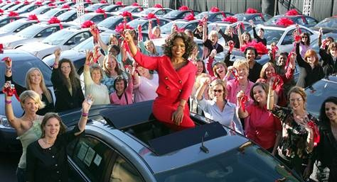Only Oprah!