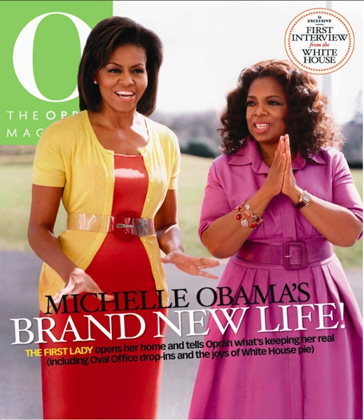Oprah Shares Her Cover!