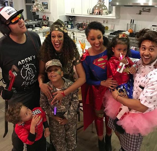 Tia & Tamera Mowry's Family