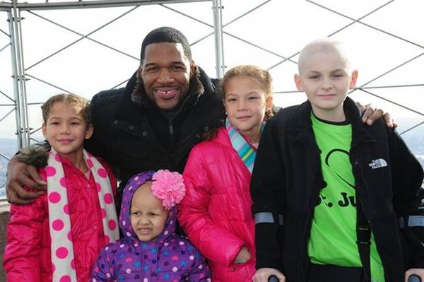Michael Loves The Kids