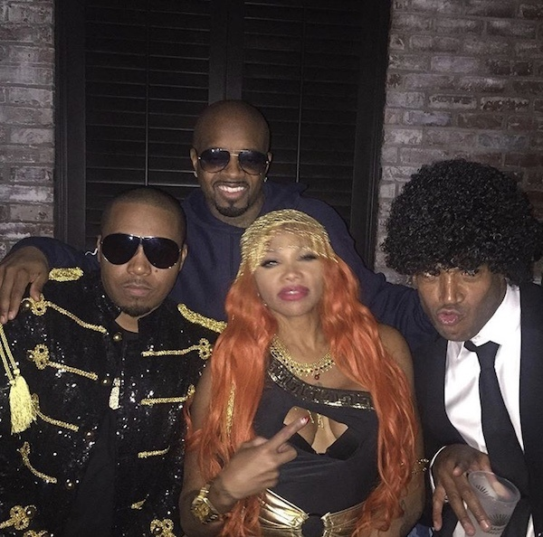 Nas & Pepa & Jermaine Dupri & Marlon Wayans