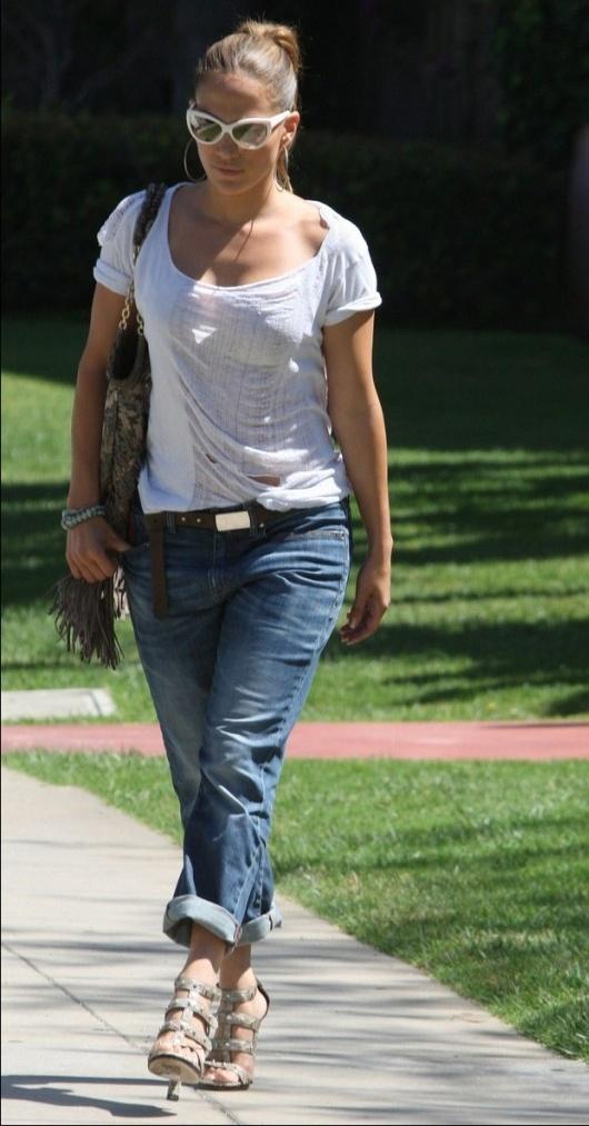 J-Lo Takes A Walk