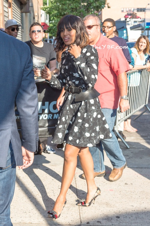 Kerry Washington's Street Style