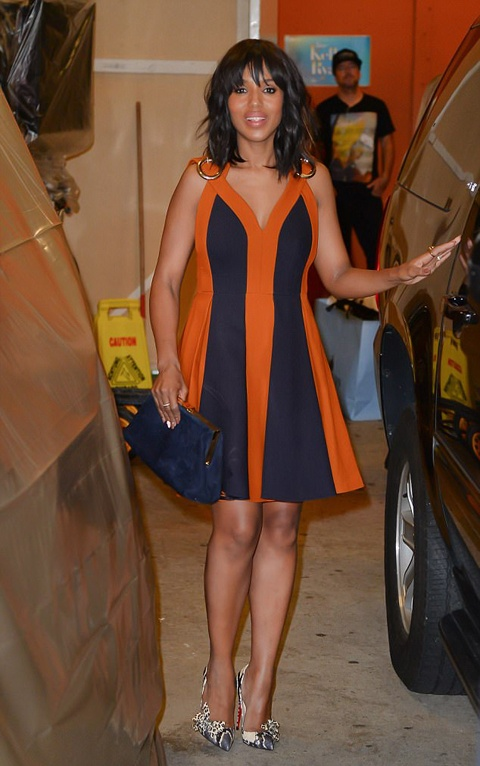 Kerry Washington At 'Live With Kelly and Ryan'
